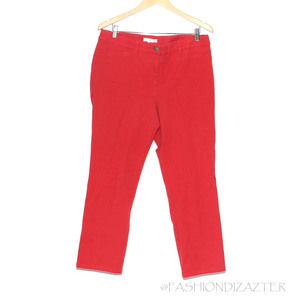 Chico's Ankle length colored jean 2.5